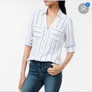 NWOT Express Slim Fit Portofino Shirt